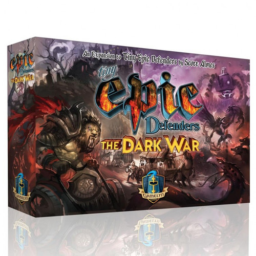 Board Games: Tiny Epic - Tiny Epic Defenders: The Dark War