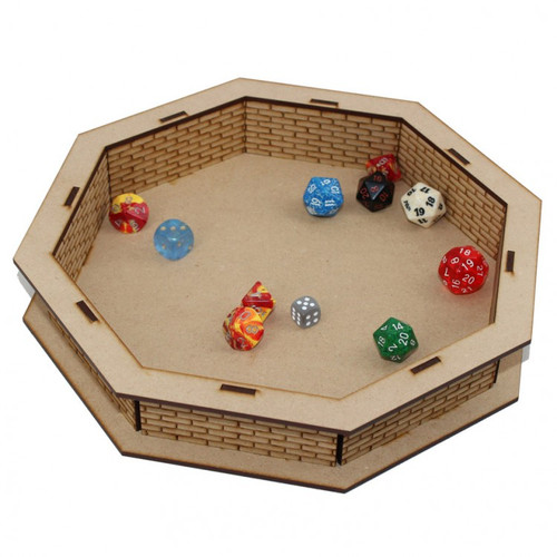 Dice and Gaming Accessories Dice Towers and Trays: Accessories: Dice Tray