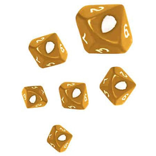 Dice and Gaming Accessories Game-Specific Dice Sets: Drakerys Aurium Dwarves Dice