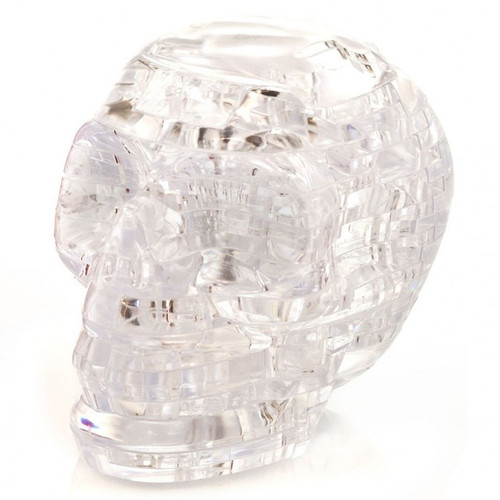 Puzzles: 3D Crystal Puzzle - Skull (Clear)