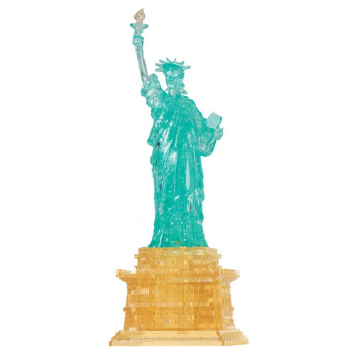 Puzzles: 3D Crystal Puzzle - Statue of Liberty