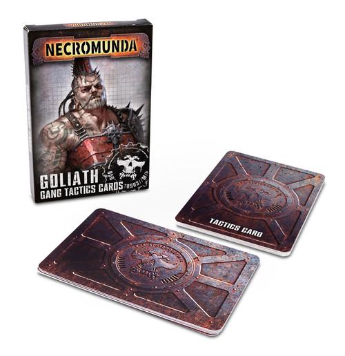 Warhammer 40K: Necromunda - Goliath Gang Tactics Cards