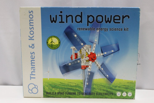 Thames & Kosmos Wind Power Renewable Enrgy Science Kit [U-B9S2 251143]