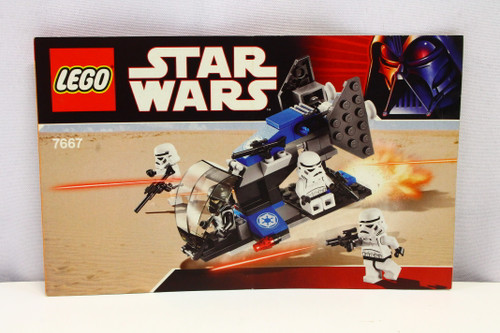 LEGO Star Wars Imperial Dropship 7667 Instruction Booklet ONLY [U-B5S5 228065]