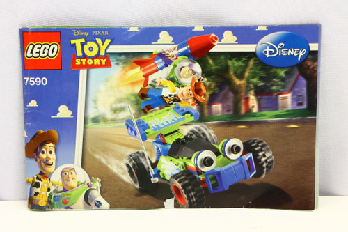 LEGO Toy Story 7590 Instruction Booklet ONLY [U-B5S5 228428]