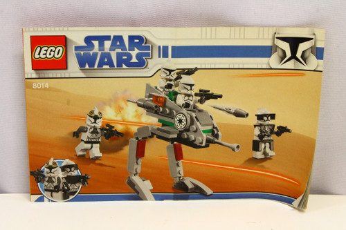 LEGO Star Wars Clone Walker 8014 Instruction Booklet ONLY [U-B5S5 228433]