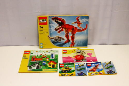 LEGO Generic Instruction Booklet ONLY Lot 6741 6742 4406 4407 40085 [U-B5S5 228478]