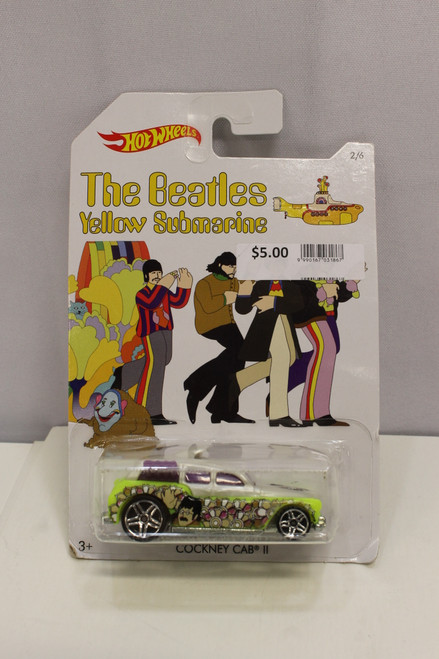 Mattel Hot Wheels The Beatles Yellow Submarine lot #1-5 [U-B6S3 229534]