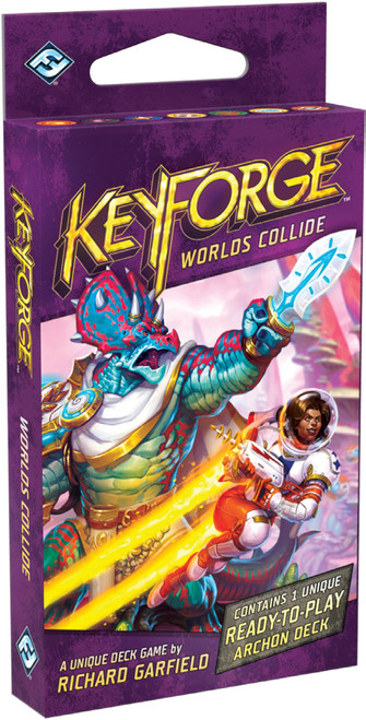 KeyForge: Decks and Deck Displays - KeyForge: Worlds Collide Deck