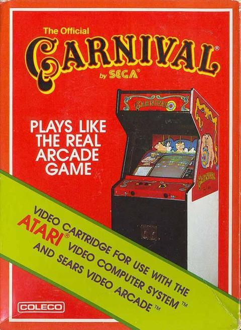 Atari 2600: Video Game - Carnival