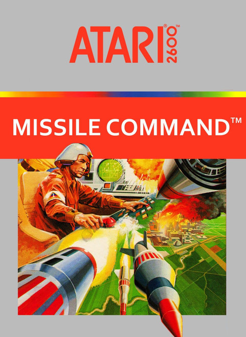 Atari 2600: Video Game - Missile Command