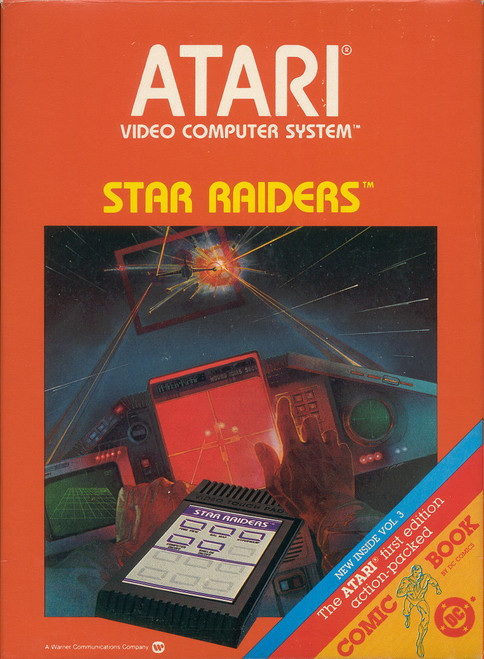 Atari 2600: Video Game - Star Raiders
