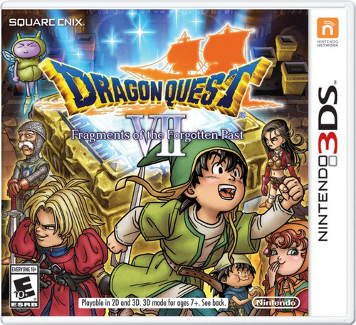 Nintendo 3DS: Video Game - Dragon Quest VII: Fragments of the Forgotten Past