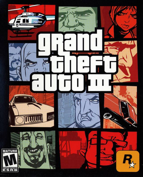 Playstation 2: Video Game - Grand Theft Auto III [710425270796-L]