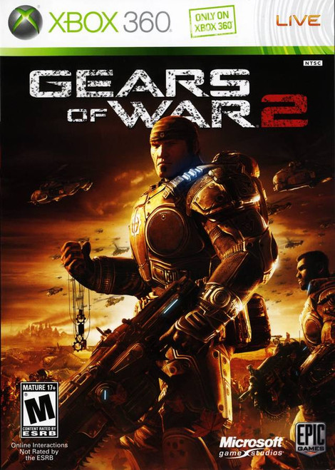 Xbox 360: Video Game - Gears of War 2 [882224691635-L]
