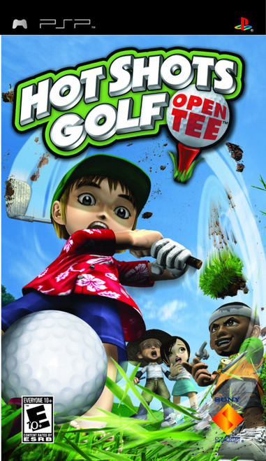 PSP: Video Game - Hot Shots Golf Open Tee [711719861423-L]
