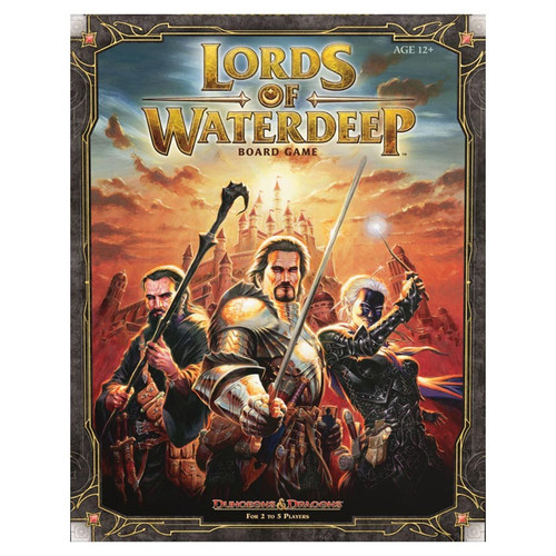 Board Games: Staff Recommendations - Dungeons and Dragons: Lords of Waterdeep Board Game