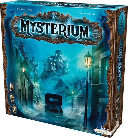 Board Games: Staff Recommendations - Mysterium