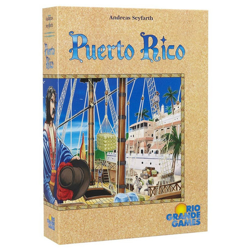 Board Games: Staff Recommendations - Puerto Rico