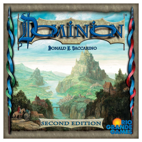 Board Games: Staff Recommendations - Dominion 2nd Edition