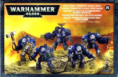 Warhammer 40K: Space Marines - Terminator Assault Squad