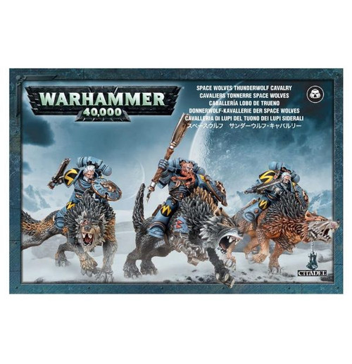Warhammer 40K: Space Wolves - Thunderwolf Cavalry