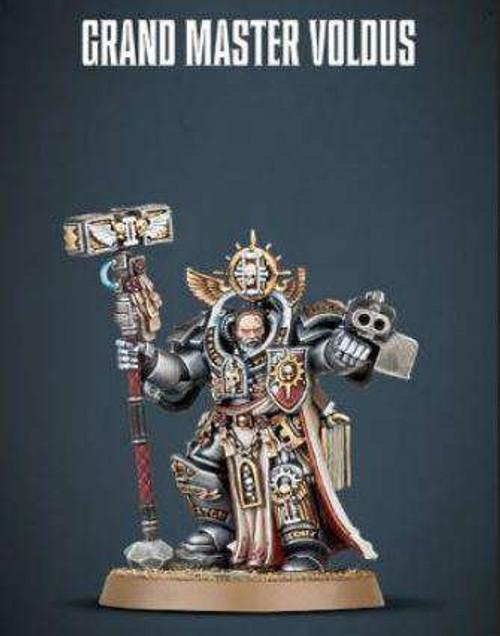 Warhammer 40K: Grey Knights - Grand Master Voldus