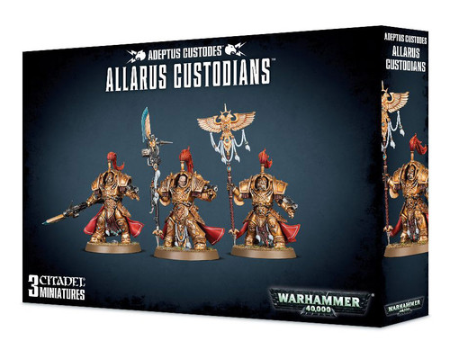 Warhammer 40K: Adeptus Custodes - Allarus Custodians