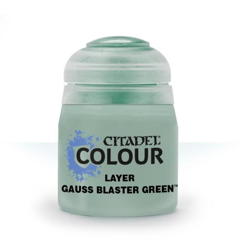 Paint: Citadel - Layer Layer: Gauss Blaster Green (12mL)