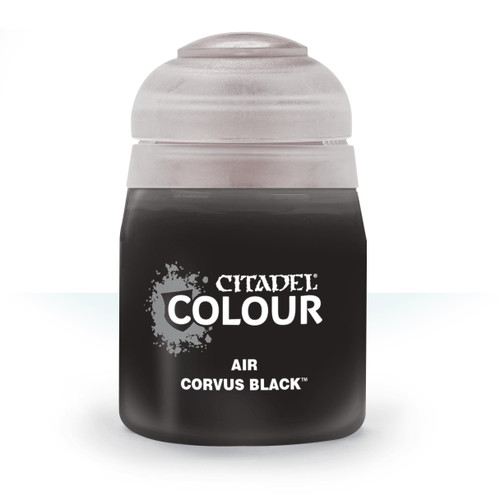 Paint: Citadel - Air Air: Corvus Black (24mL)