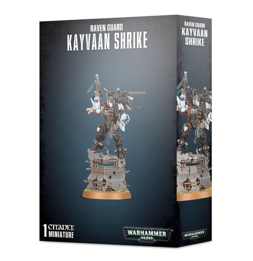 Warhammer 40K: Space Marines - Raven Guard Kayvaan Shrike (Primaris)