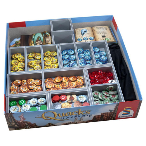Other Gaming Storage: Box Insert: Quacks Of Quedlinburg