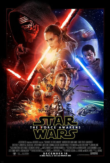Posters: Star Wars The Force Awakens One Sheet