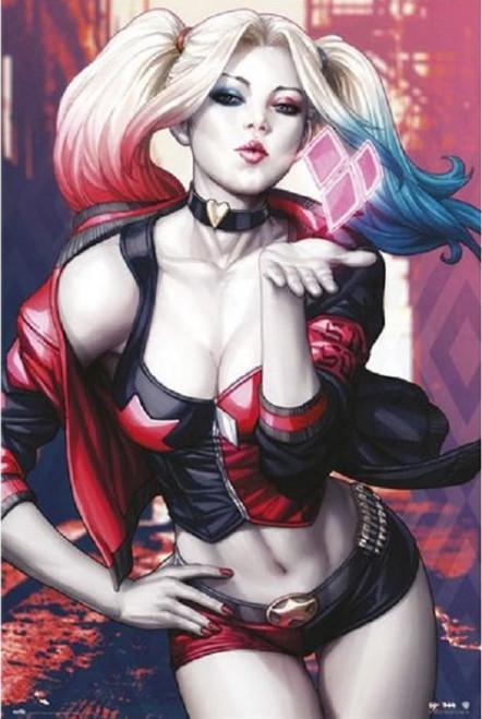 Posters: Harley Quinn - Kiss
