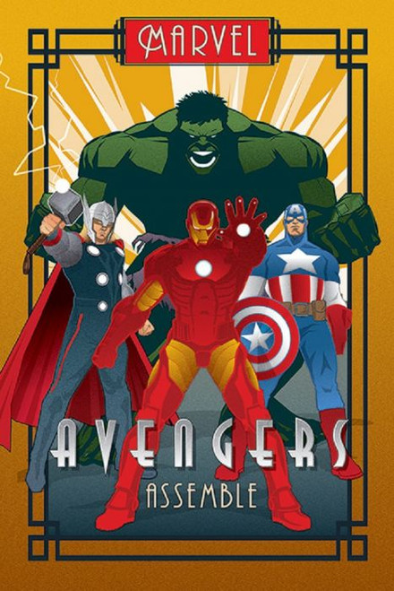Posters: Marvel Deco - Avengers