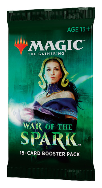 Magic The Gathering Sealed: War of the Spark - Booster Pack [WOC C57770000-S]