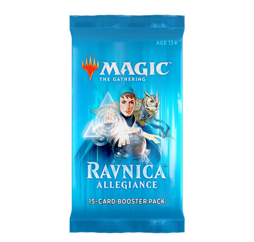 Magic The Gathering Sealed: Ravnica Allegiance - Booster Pack [WOC C46330000-S]