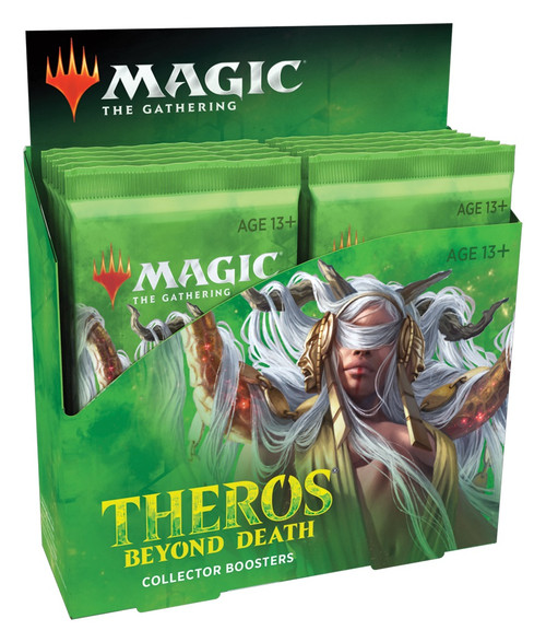 Magic The Gathering Sealed: Theros Beyond Death - THB Collector Booster Display (12)