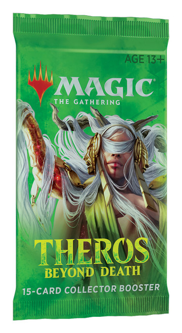 Magic The Gathering Sealed: Theros Beyond Death - THB Collector Booster Pack