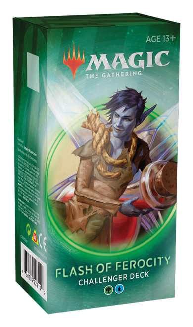 Magic The Gathering Sealed: PreMade Decks/Special - Challenger 2020: Flash of Ferocity