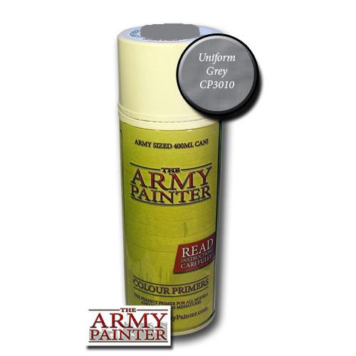 Spray Primers and Varnish: Army Painter - Colour Primer: Uniform Grey