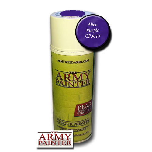 Spray Primers and Varnish: Army Painter - Colour Primer: Alien Purple