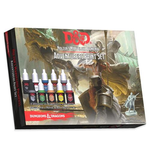 Paint: Army Painter - Paint Sets D&D Nolzur's Marvelous Pigments: Adventurers Paint Set