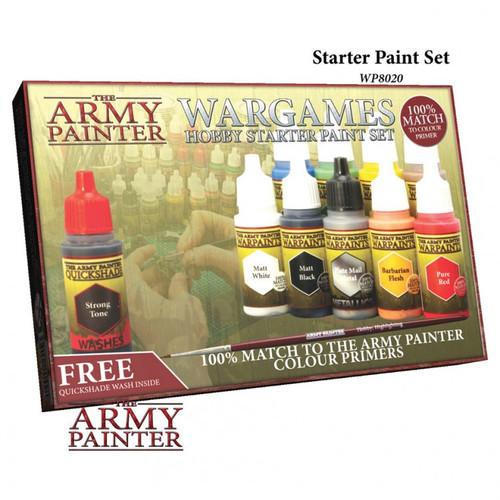 Paint: Army Painter - Warpaints Starter Paint Set 2017