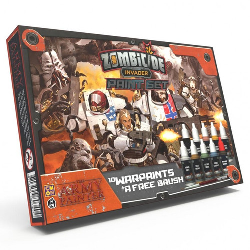 Paint: Army Painter - Paint Sets Warpaints: Zombicide - Invader Paint Set
