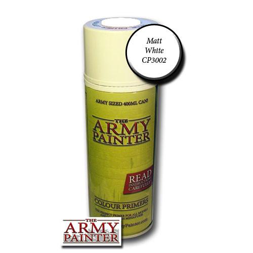 Spray Primers and Varnish: Army Painter - Base Primer: Matt White
