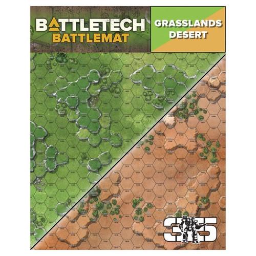 Battletech: Battletech: Battle Mat - Grasslands/Desert