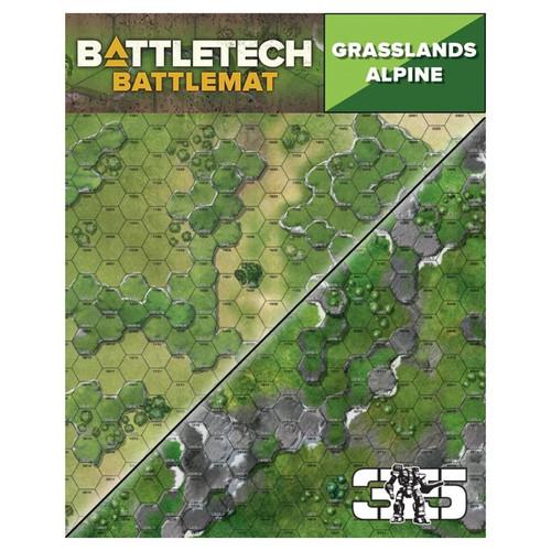 Battletech: Battletech: Battle Mat - Grasslands/Alpine