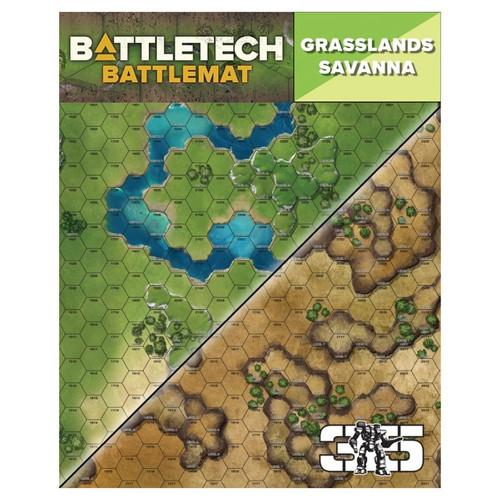 Battletech: Battletech: Battle Mat - Grasslands/Savanna