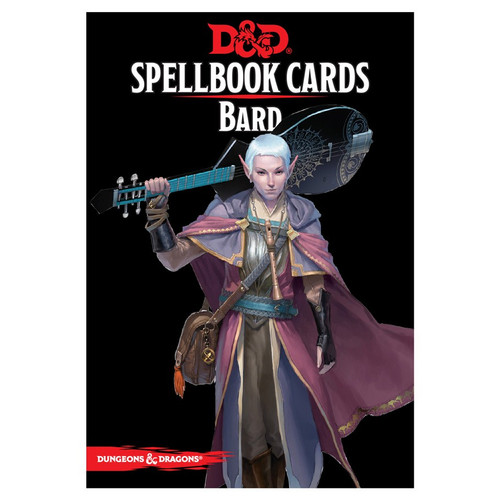 Dungeons & Dragons: Player Support - Spellbook Cards: Bard Deck